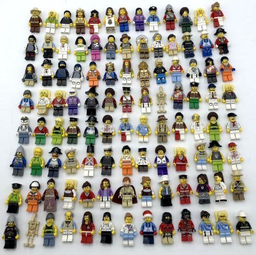 LEGO NEW 10 MINIFIGURES TOWN CITY SERIES STAR WARS NINJAGO FIGS MORE