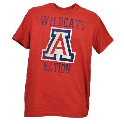 Fanartikel Baseball & Softball Willensstark Ncaa Arizona Wildcats Nationen Rot T-shirt Herren Erwachsene Kurzärmelig Sport Klar Und GroßArtig In Der Art