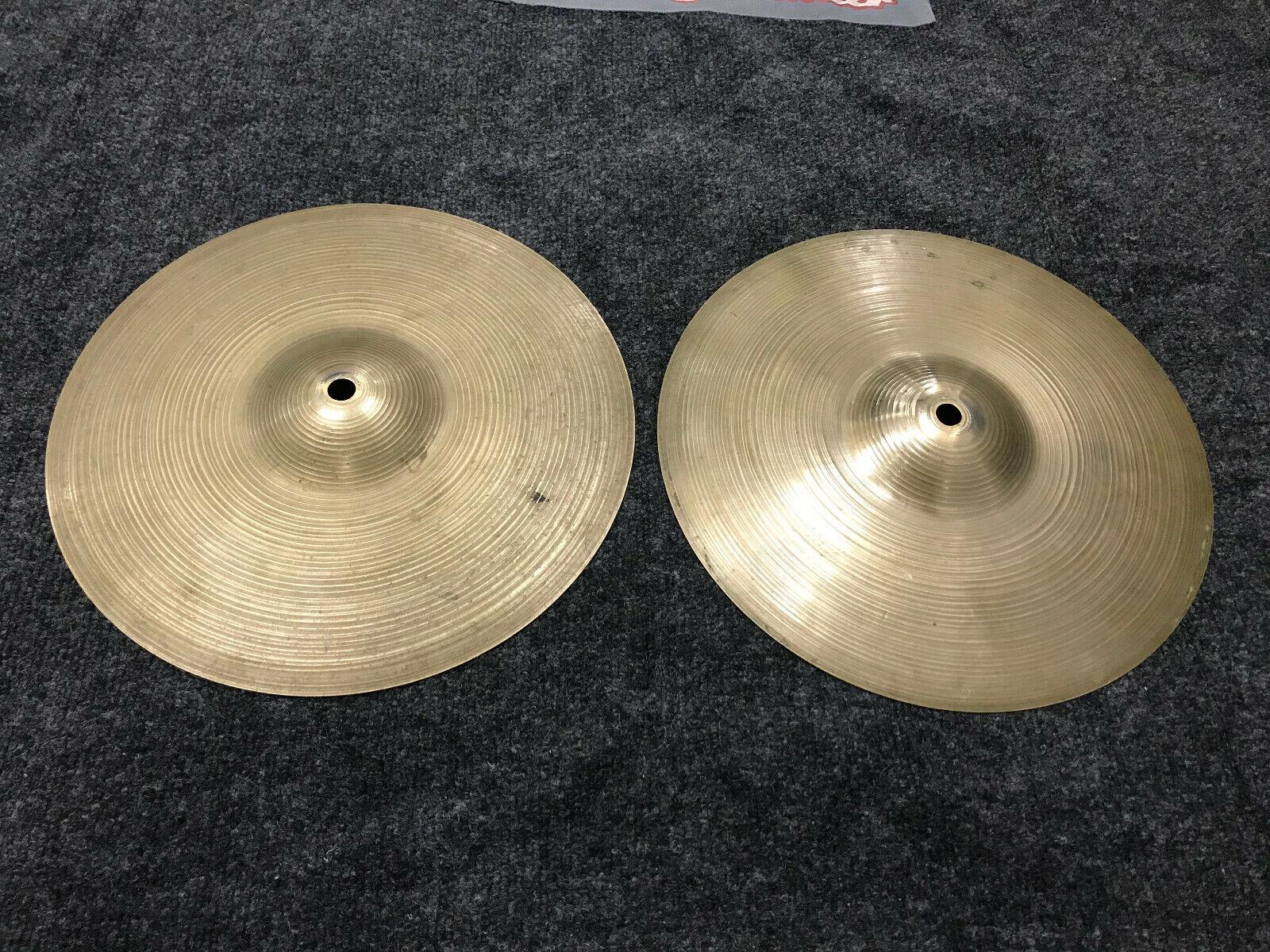 Vintage Zildjian 12  Hihat Drum Cymbals hi hat Double Stamped - 792 grams