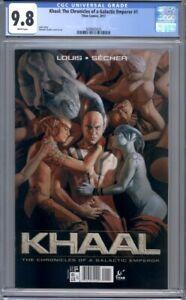 Khaal: The Chronicles of a Galactic Emperor #1  Titan Comics  1st Print  CGC 9.8