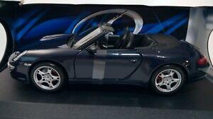 Porsche-911-CARRERA-S-CABRIOLET-coche-escala-1-18-2005-Maisto-Special-Edition-C-b