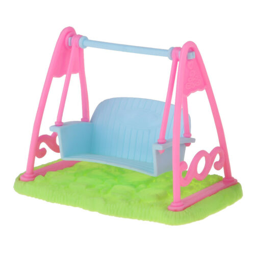1//12 Dollhouse Miniature Furniture Swing Chair Room Garden Yard Accessory