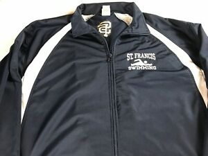 St-Francis-Swimming-Jacket-Mens-XL-Dri-Fit-Student-Alumni-School-Long-Sleeve