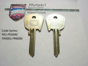 Key Blank For Sunbeam Lotus Triumph Tr6 Spitfire Jensen