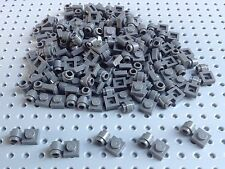 Lego Dark Bluish Grey 1x1 Plate with Clip (4081) x20 *BRAND NEW* Star War