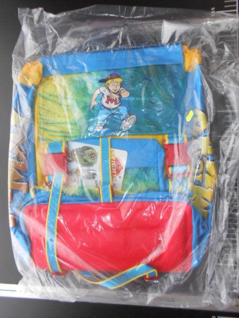 Satchel Bag Zaino MIGHTY MAX HORROR HEADS Big blu MATTEL