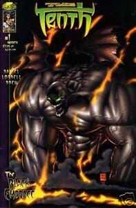 THE TENTH Vol. 3 THE BLACK EMBRACE # 1 Variant Cvr Tony Daniel Fi (Image, 1999)