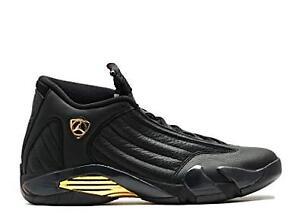nowe style najlepsze trampki sklep dyskontowy Details about Air Jordan XIV 14 Retro DMP Defining Moments Pack Black Gold  Size 12 897563 900