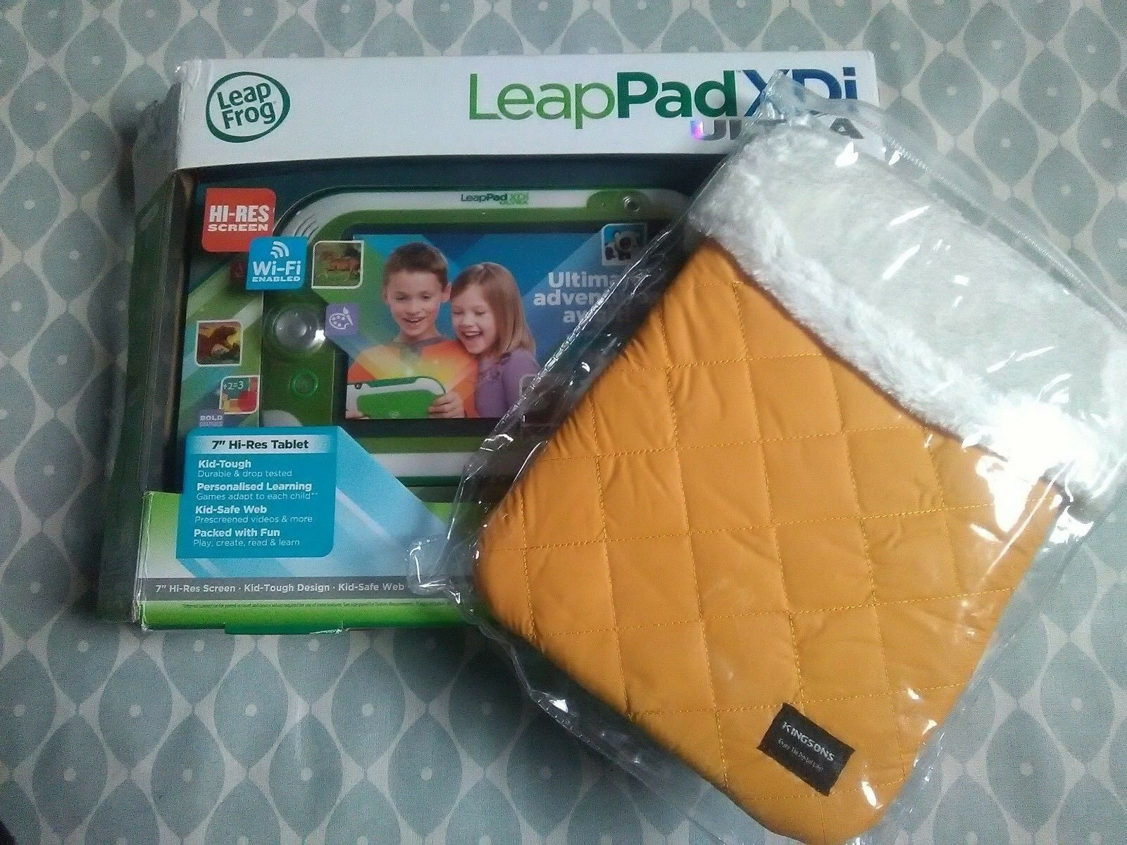 Leappad Ultra XDI by Leapfrog - Green Tablet with new case