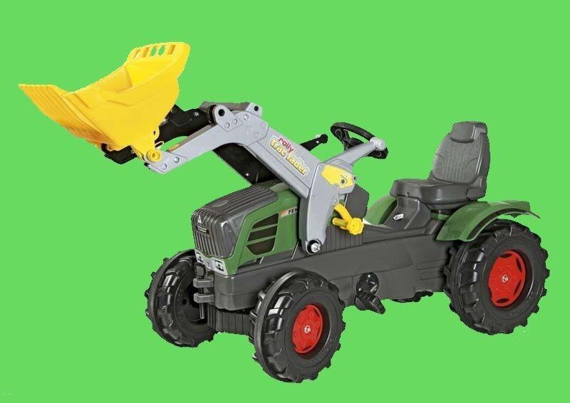 Rolly toys 611058 611058 611058 rollyFarmTrac Fendt Vario 211 mit Lader Blitzversand DHL-Paket e4a46e