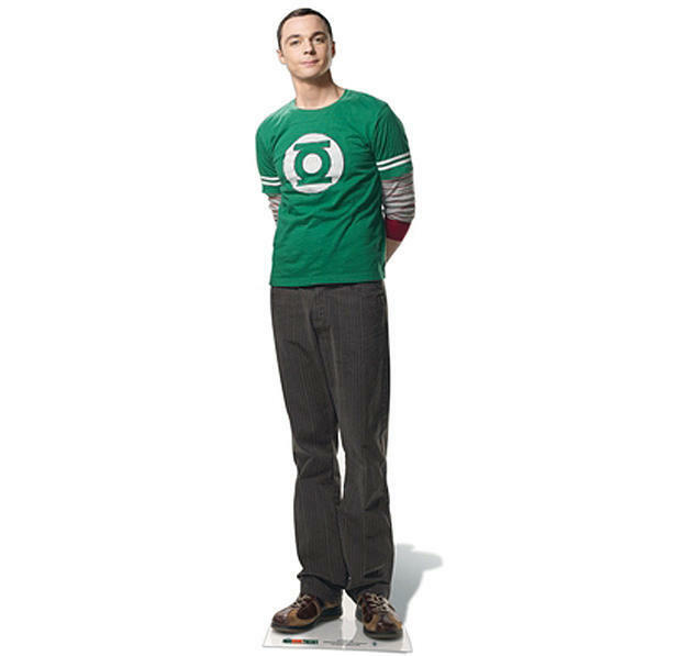 Sc-618 Dr. sheldon cooper height ca185cm display voituredboard actual  Taille  marque