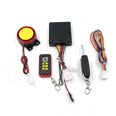Bike Motorcycle Security Alarm System Immobiliser Remote Control Engine Device