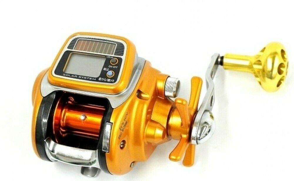 Daiwa ICV 250 Solar Electric Fishing SaltWater Reel Big Game Tested Used