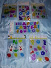 GEL WINDOW STICKERS EASTER CHICKS EGGS RABBITS CUTE FESTIVE DECORATIONS