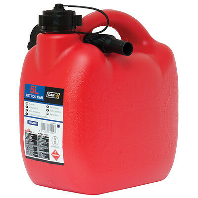 MP Essential Durable Plastic Jerry Fuel Oil Water Petrol Diesel Can Container /& Funnel Green - PETROL