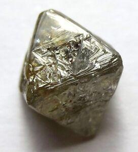 5.36 Carats Unique Uncut Raw Rough Diamond Octahedron