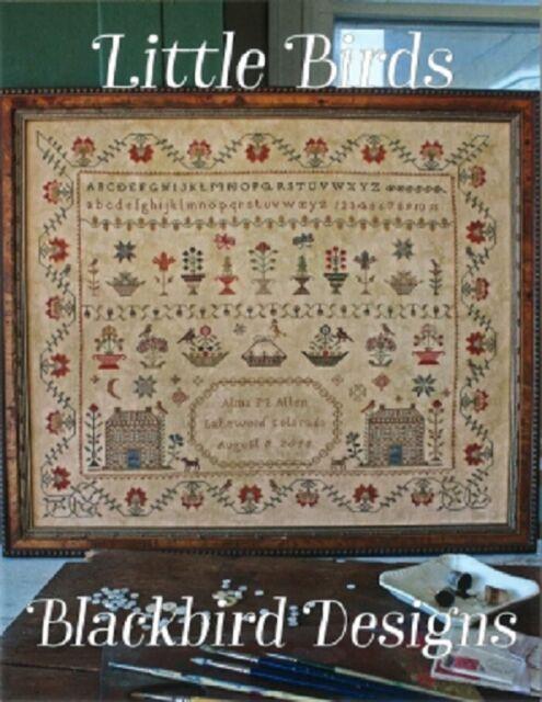 Little Birds - Blackbird Designs - New Cross Stitch Chart