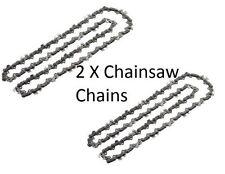 """2 x Chainsaw Chain for Black & Decker DN400 DN401 DN402 DN404  DN416 12""""/ 30CM"""