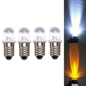 5Pcs-E10-Led-Bulb-Dc-3V-4-5V-Instrument-Bulb-Indicator-Bulb-Flashlight-Bulb