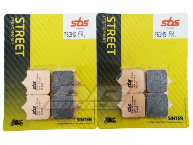 Husqvarna SM 701 Supermoto 2015+ SBS Street Sintered Front Brake Pads 762HS