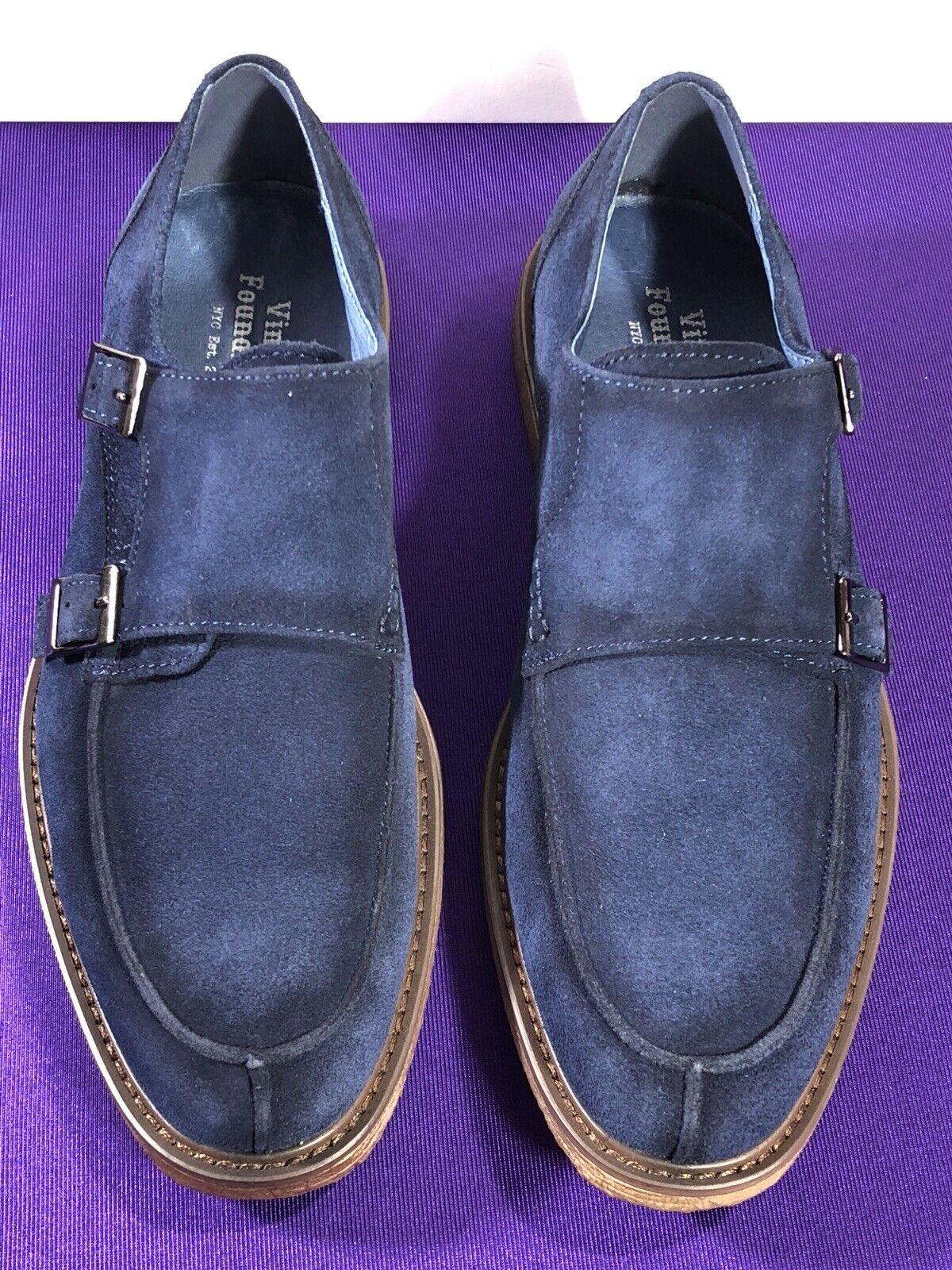 Vintage Foundry Roebling Navy Mens shoes US Size 7   VF1010 SE MSRP