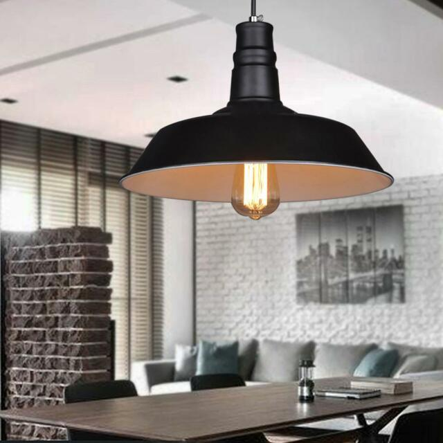 Industrial Vintage Light Retro Pendant Lamp Shades Factory Edison Ceiling Lights