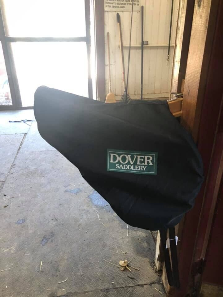 Dover Saddlery Premier  Circuit Monoflap Eventing Saddle  comfortably