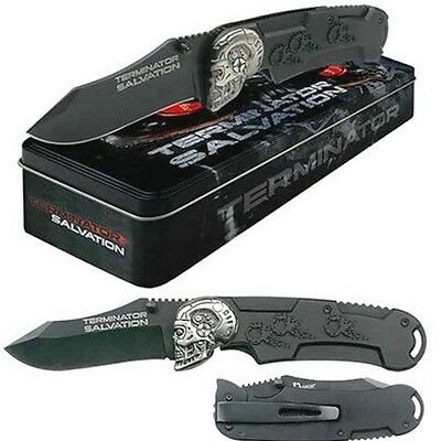 Terminator Salvation Collector's Knife with Sharpened 440 Stainless Steel Blade