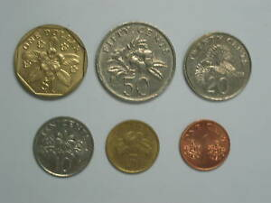 SINGAPORE-6-different-COINS