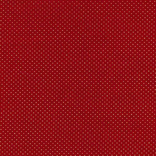 100/% tissu de coton John Louden Métallique Imprimé Polka Dot Falling taches Noël