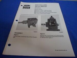 drawer 28 ford new holland gearbox round balers service manual 848 rh ebay com Vermeer Hay Baler Baler Chain Gate