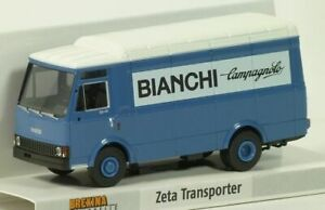 Brekina-93464-IVECO-ZETA-transporter-034-BIANCHI-Campagnolo-034-Scala-H0-1-87