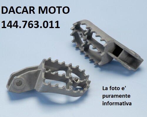 144.763.011 Coppia Pedane Poggiapiedi Racing Polini Motociclo Xp4t 125 Off Road Prestazioni Affidabili
