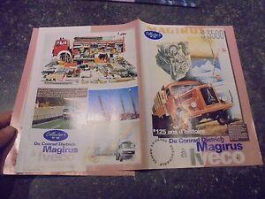Ancien-Livret-Camion-de-Magirus-Deutz-a-Iveco-32-pages