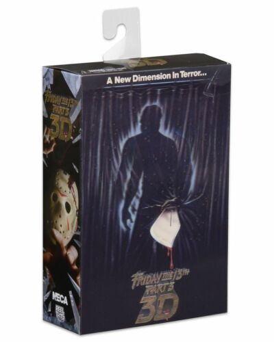 Jason Voorhees Friday the 13th 7 inch Scale Action Figure Ultimate Part 3 NECA