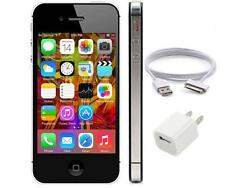 "APPLE IPHONE 4S 64GB (Unlocked)  8MP iOS8 3.5"" TFT Touchscreen Smartphone Black"
