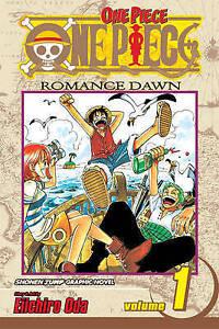 NEW-One-Piece-Vol-1-By-Eiichiro-Oda-Paperback-Free-Shipping