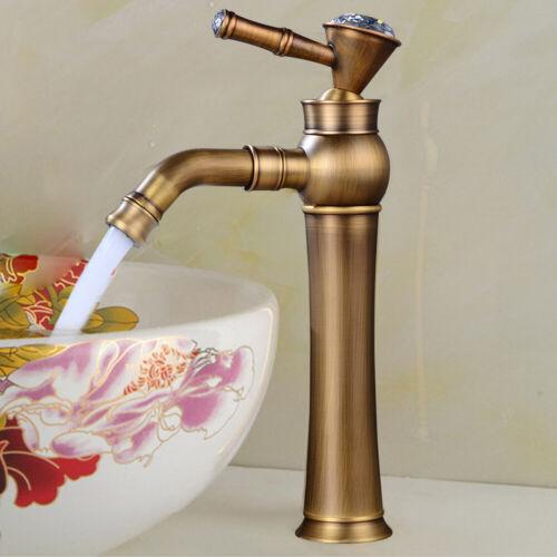 360° Gold Spültischarmatur Küchenarmatur Bad Wasserhahn Mischbatterie Messing DE