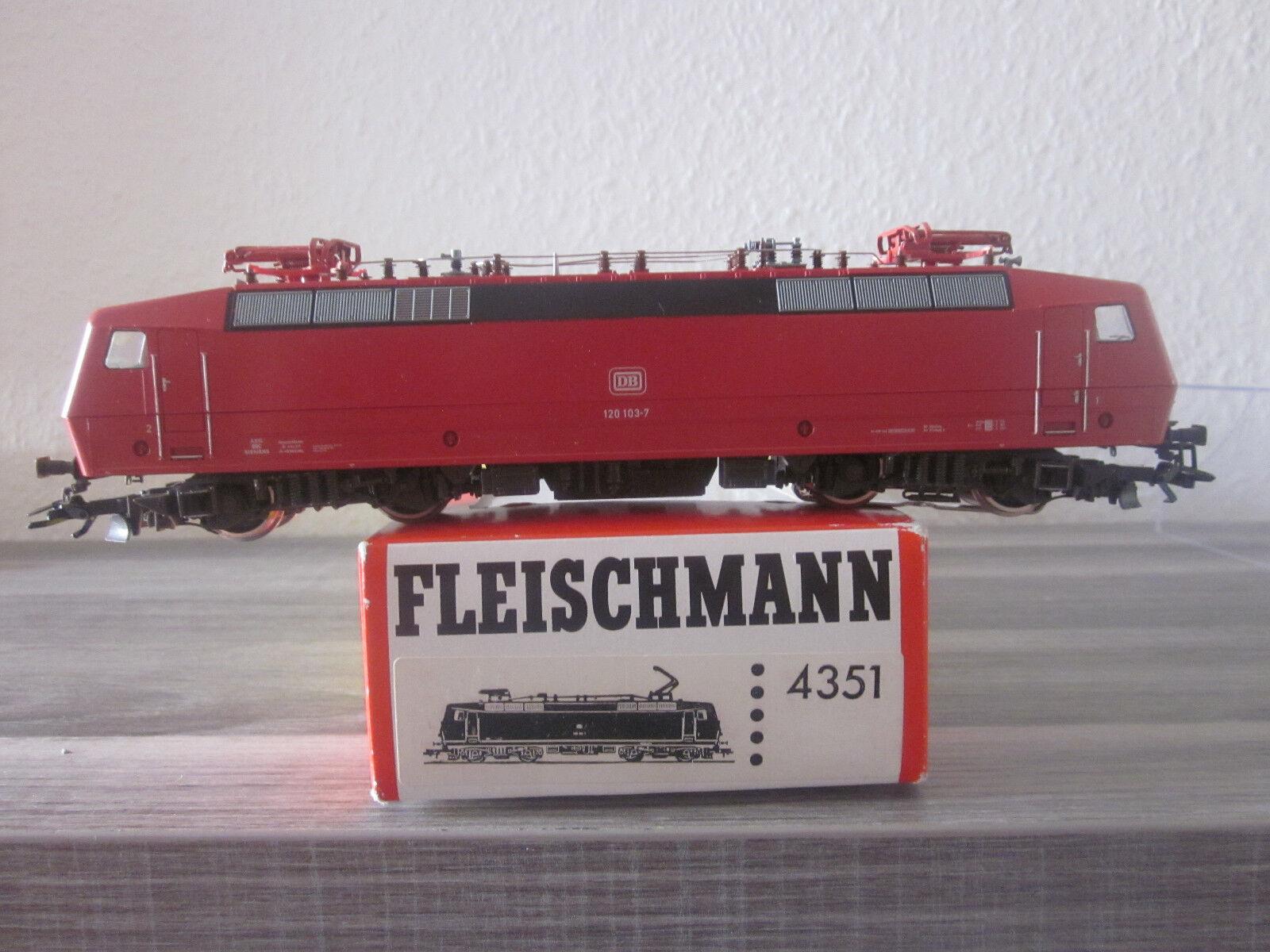 Fleischmann art.nr 4351 E-Lok 120 103-7 per corrente alternata Digital NUOVO + OVP