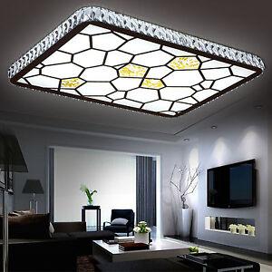 Das Bild Wird Geladen LED Deckenlampe Deckenleuchte Wohnzimmer  Wasserwuerfel Designlampe 3 Leistungen