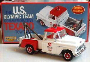 US-Olympic-team-TEXACO-TOW-TRUCK-CHEVROLET-pick-up-MATCHBOX-1-43