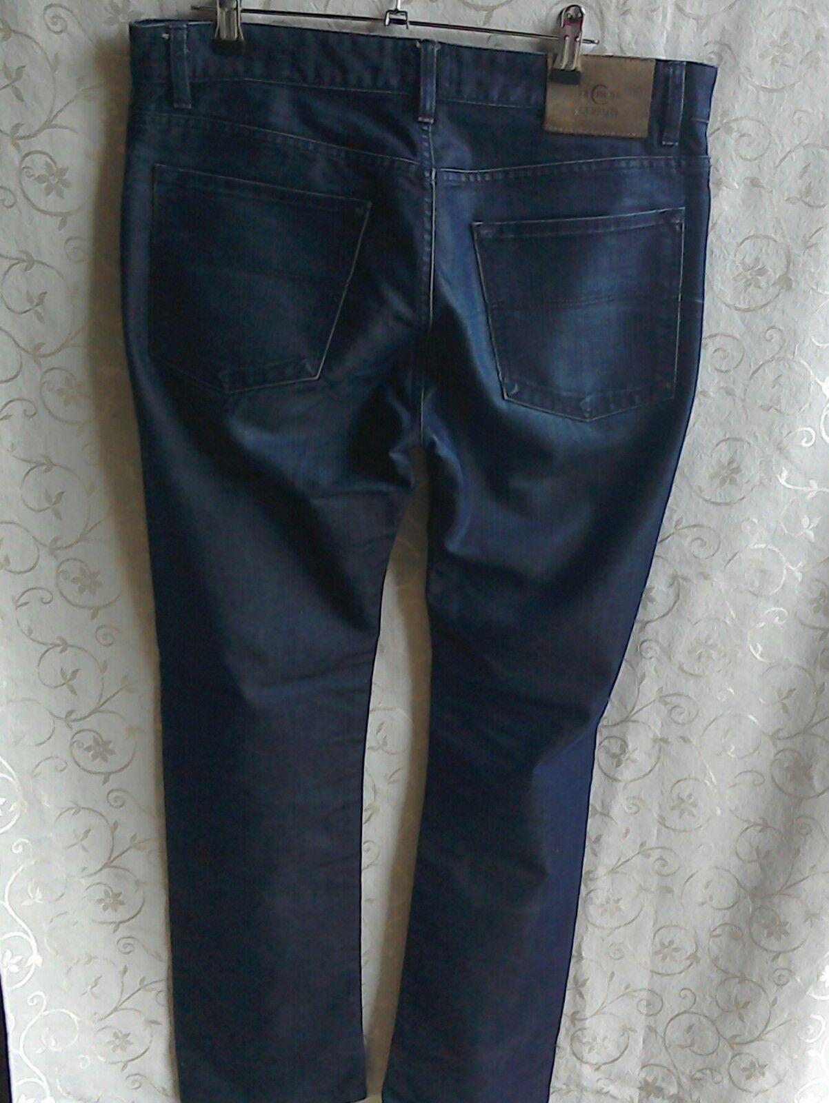 Da Uomo Cerruti 1881 blu Jeans... Girovita 34... all'interno gamba 30