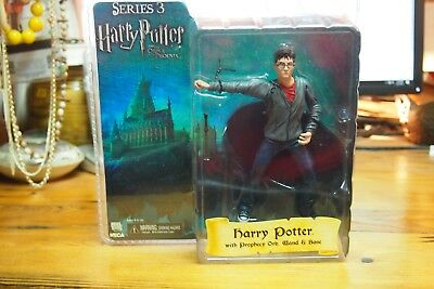 """NEW* NECA Harry Potter Doll 7/"""" Order of the Pheonix Series 3 Prophecy Orb /& Wand"""