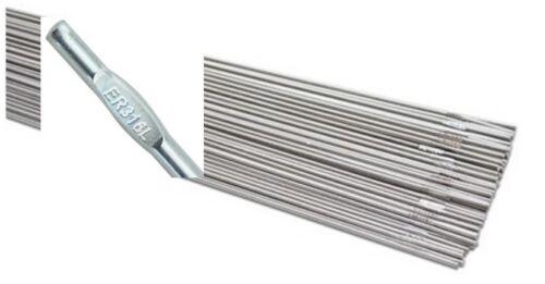 """ER316L Stainless Steel TIG Welding Rod 1Ib TIG Wire 316L 3//32/"""" 36/"""" 1Ib Box"""