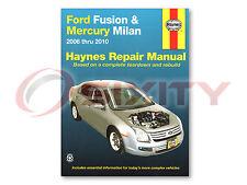 Ford Fusion Haynes Repair Manual S Sport SEL Hybrid Shop Service Garage Book jx