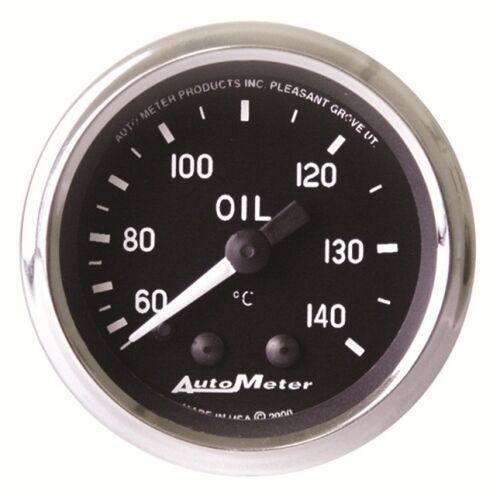 "Mechanical Cobra Auto Meter 201008 2-1//16/"" Oil Temperature Gauge Mechanical"