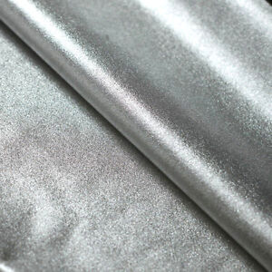 Details about Silver Metallic Lame Nylon Spandex Lycra Fabric Foil 4-Way  Stretch Chrome Wet