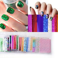 50pc Fashion Nail Art Transfer Foil Nail Sticker Decal Star Style DIY Tips Decor