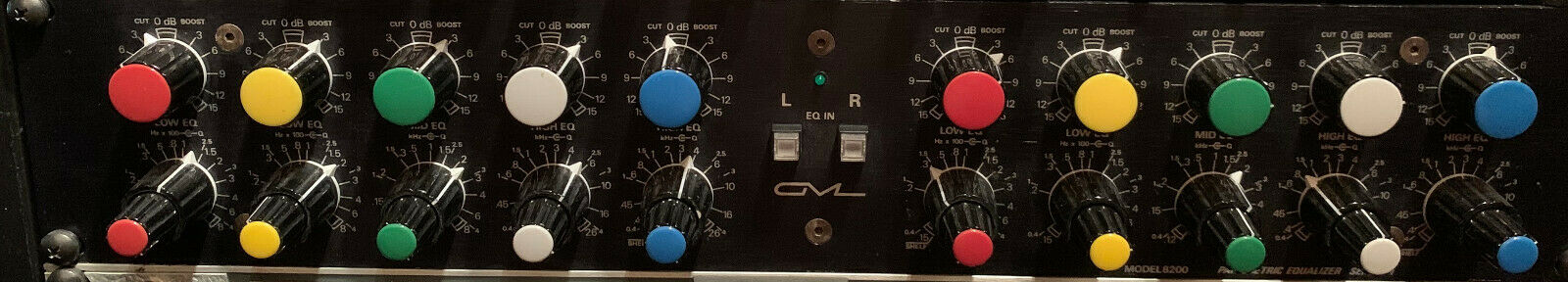 Massenburg GML 8200, Parametric Equalizer, 2 Ch - 5 Band. Buy it now for 4000.00