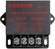 Dc Voltage Regulator Buck Converter Dc 12v 24v To Dc 5v 15a 75w Step Down Module